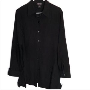 ♦️Ny&co oversized button down large shirt
